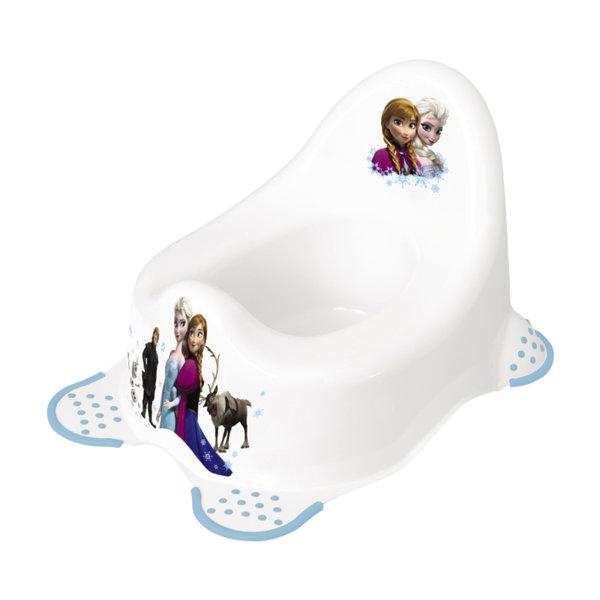 """Lorelli Анатомично детско гърне """"DISNEY Frozen Бяло 10130340912"""